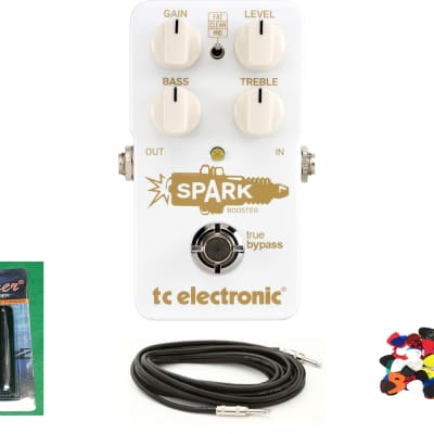 TC Electronic Spark Booster  A whopping 26 dB of boost; Immaculate Condition
