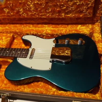 Fender Custom Shop '63 Telecaster Relic 1963 Tele Aged ocean turquoise - nice! for sale