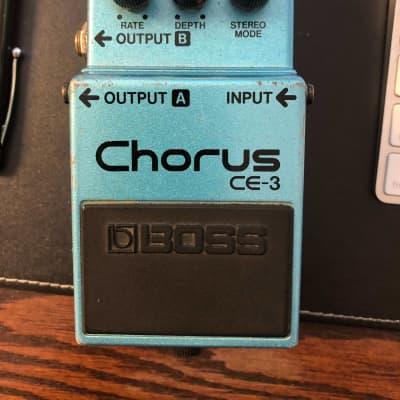 Boss CE-3 Chorus (Green Label)