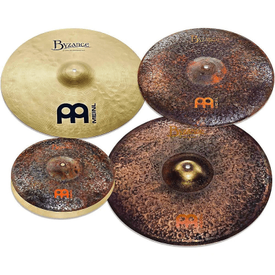 "Meinl MJ401+18 Mike Johnston Byzance 5pc Cymbal Pack (14/20/21/18"")"
