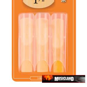 Rico RIA0315 Soprano Saxophone Reeds - Strength 1.5 (3-Pack)