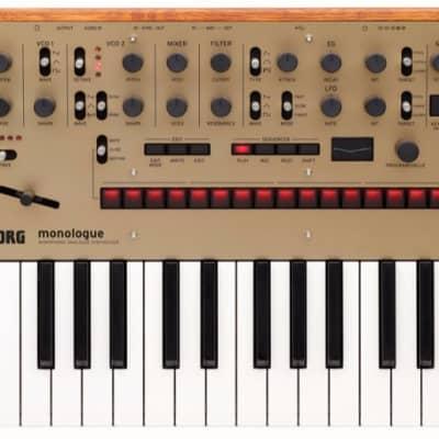 Korg Monologue Gold Monophonic Analogue Synthesizer