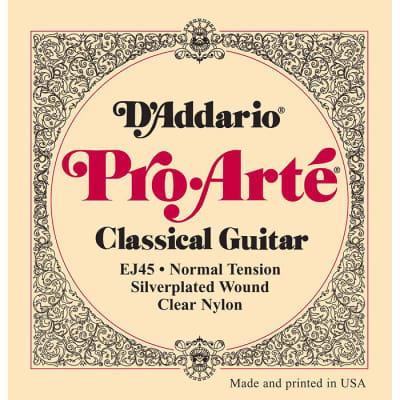 D'Addario Pro-Arté Nylon Core Classical Normal Tension