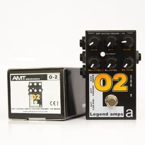 AMT Electronics Legend Amp Series O2 Distortion