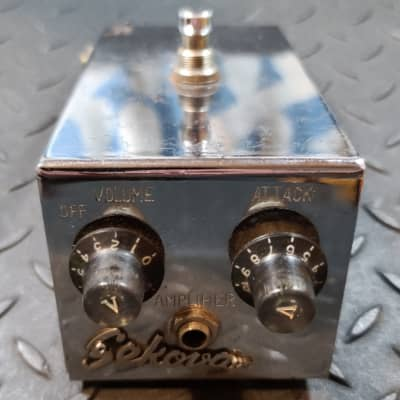 Sekova Model No. 59 Distortion Box 1960's Maestro FZ-1A Fuzz Tone variant 2SB175 Red Dot Transistors for sale