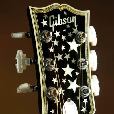 1993 Gibson Master Museum J-180 Silver Sparkle Ren Ferguson. SJ-200 J-200 J-185 for sale