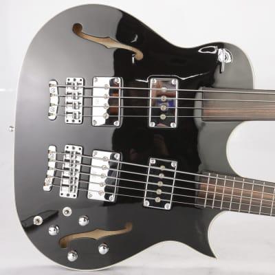 2011 Warwick Custom Shop Starbass SC Double Neck Bass Leland Sklar #38745