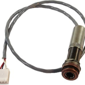 LR Baggs Dual Source Prewired Strapjack Harness with Endpin Jack and 4-Pin Connector for sale