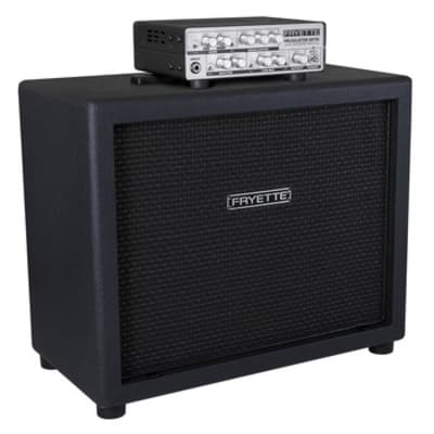 Fryette  Valvulator GP/DI with Fryette R112 Recording Cabinet 2016 Black