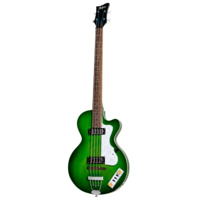 Hofner Ignition Pro Club Bass Green HOF-HI-CB-PE-GR for sale