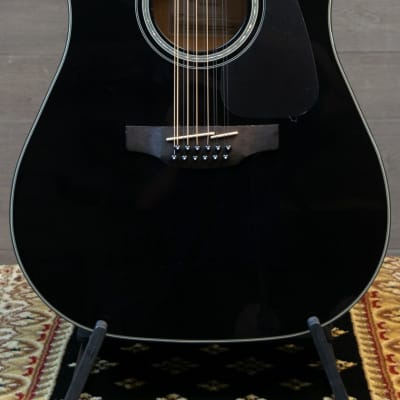 Takamine GD30CE 12 string Acoustic Guitar w/Electronics - Black for sale
