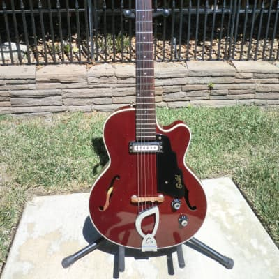 Guild M-65 Freshman 3/4 Size Electric Guitar Cherry Finish for sale
