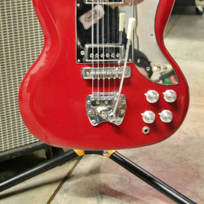 Crestwood Galaxie II 1960's Red MIJ for sale