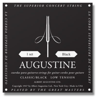 Augustine Classical Guitar Strings Regular Trebles/Low Tension Basses for sale