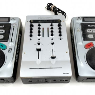 Numark Matrix 2 Preamp Mixer All-In-One (3pc) DJ System and Carrying Case!