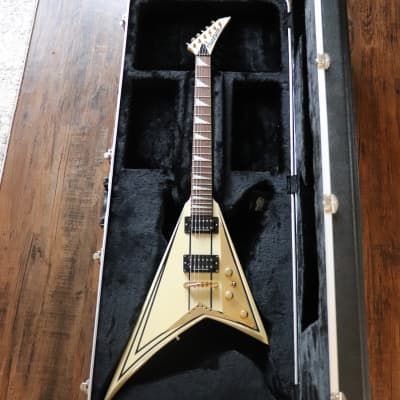 Jackson Pro Rhoads RR5 Ivory with Black Pinstripes for sale