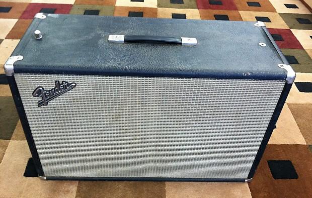 Vintage Fender Tremolux 2x10 guitar cabinet w/ original Oxford speakers 1967