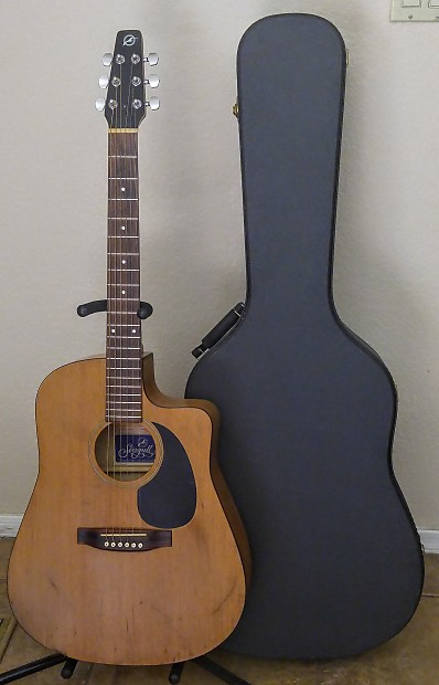 6498f98c3b Seagull S(6) C.W Acoustic Cutaway Guitar | Reverb