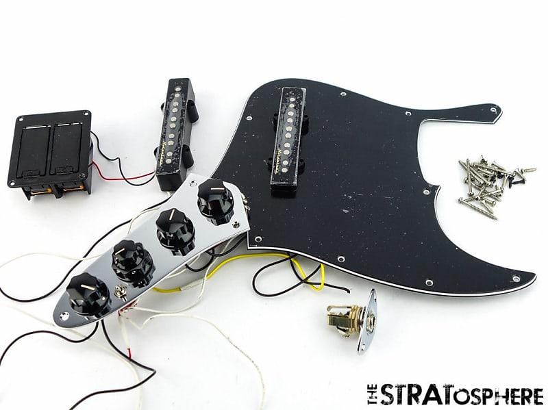 Fender Deluxe Active Jazz Bass V 5 String Loaded Pickguard Reverb