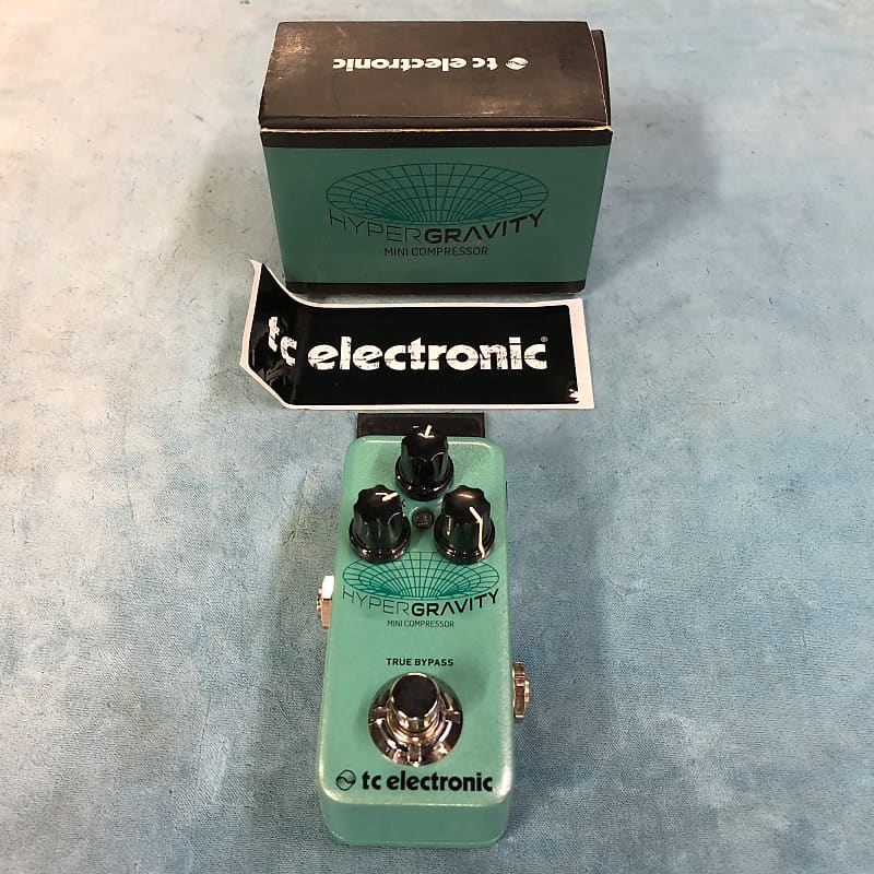 TC Electronic HyperGravity Mini Compressor Effects Pedal w/ Box