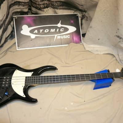 MTD Kingston Artist 4-String Fretless Bass w/ Rosewood Fretboard Black for sale