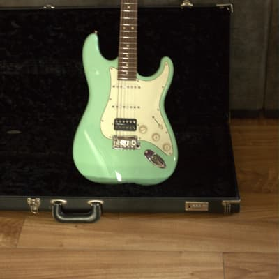 Suhr Classic S HSS with Rosewood Fretboard 2016 Surf Green