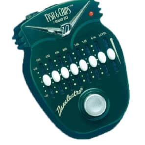 Danelectro DJ14 FISH & CHIPS 7 BAND EQUALIZER for sale