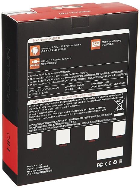 FiiO E18 KUNLUN Android Phone USB DAC /& AMP