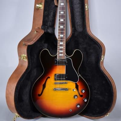 2018 Gibson Memphis ES-335 Figured Maple Sunburst Finish Electric Guitar w/OHSC