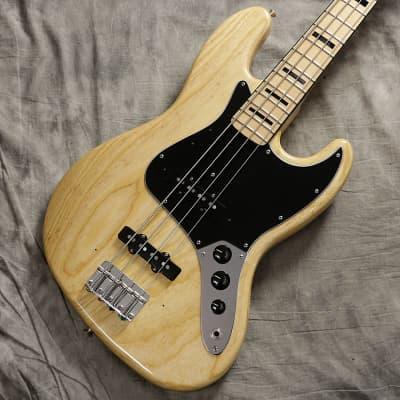 Fender USA American Vintage '75 Jazz Bass Jazz Bass Natural/0830 for sale