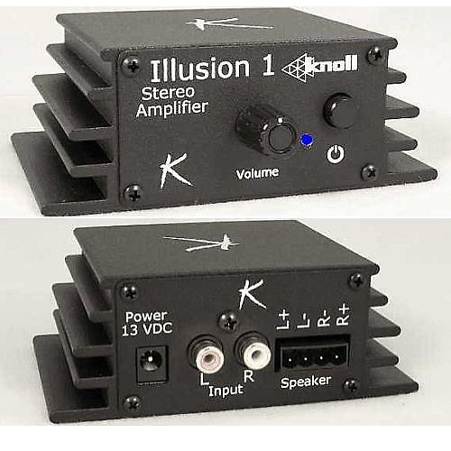 Knoll Systems Illusion-1 Mini Stereo Amplifier   AVHiFi
