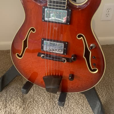 Artinger Hollowbody 2013 with Lollar Imperials for sale