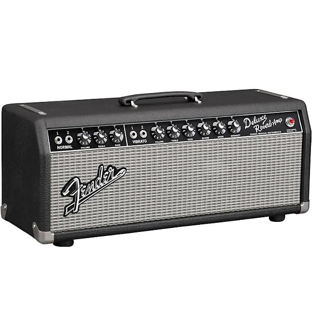 fender 65 deluxe reverb head 22 watt all tube guitar head reverb. Black Bedroom Furniture Sets. Home Design Ideas