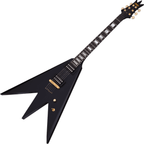 Schecter Al Jourgensen Signature Triton Satin Black