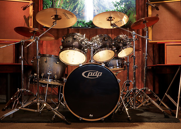 Pdp X7 Series Drum Kit Loads Of Extras Reverb