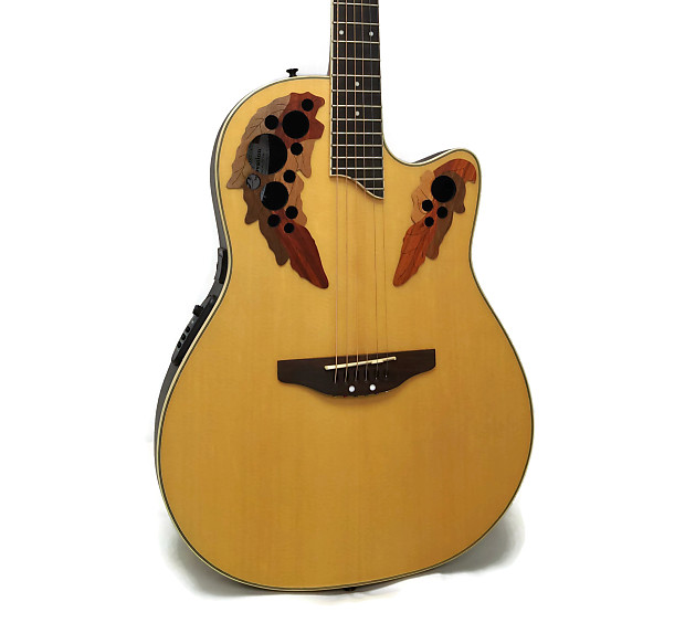 Applause by Ovation AE148 Super Shallow Acoustic-Electric | Reverb
