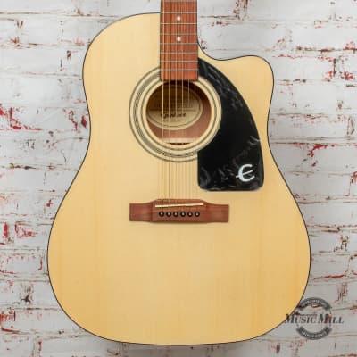 Epiphone J-15 EC Acoustic/Electric Guitar Natural x6139 for sale