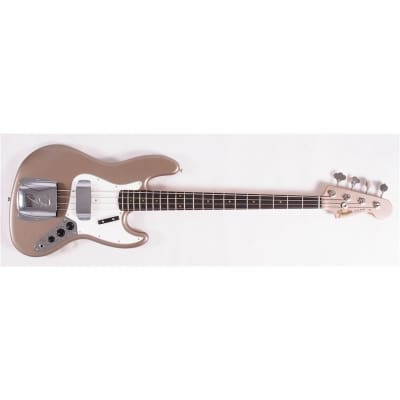 Fender Custom Shop '64 Jazz Bass, Journeyman Relic, Shoreline Gold for sale