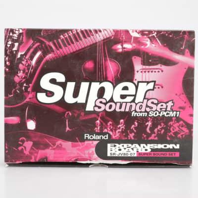 Roland SR-JV80-07 Super Sound Set Expansion Board #41690