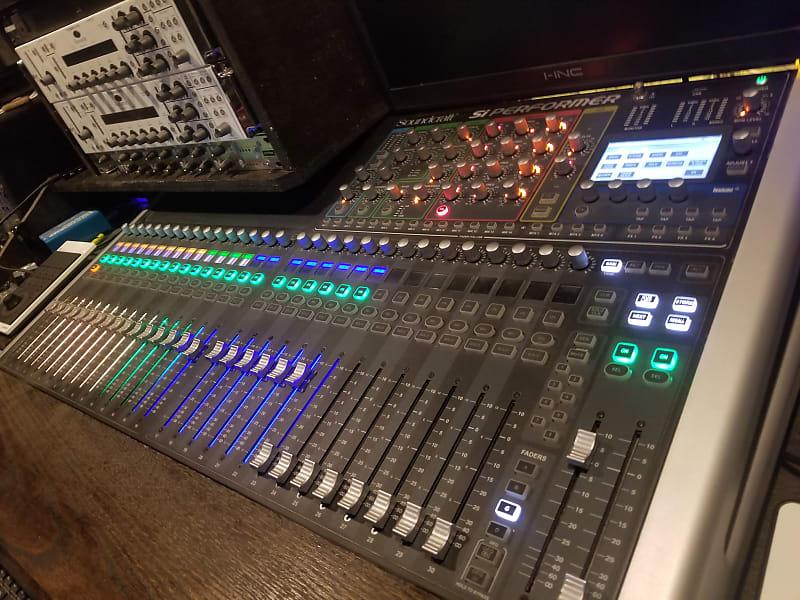 soundcraft si performer 3 32 channel digital mixer reverb. Black Bedroom Furniture Sets. Home Design Ideas