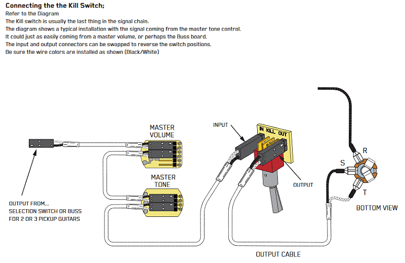 EMG MINI TOGGLE Kill SWITCH TKO OFF ( ON ) SOLDERLESS w/ | Reverb | Guitar Kill Switch Wiring Diagram |  | Reverb