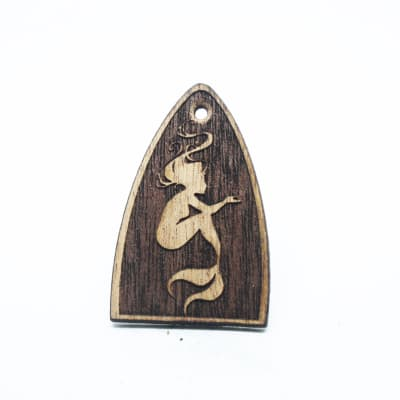 Truss Rod Cover Fits PRS (Usa made models) guitar mahogany mermaid.