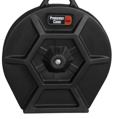 Gator Cymbal Case; Elite Air Series Molded PE; w/ Handle & Wheels GP-PE302