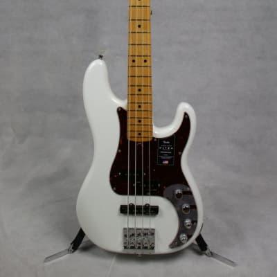 Fender American Ultra Precision Bass, Maple Fingerboard, Arctic Pearl