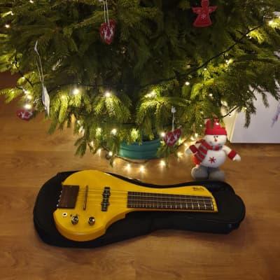 MihaDo FingyBass Travel Bass 4 strings Custom Yellow