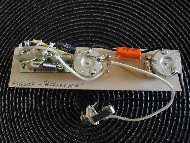 Wiring For Fender Esquire  U0026quot Eldred Mod U0026quot