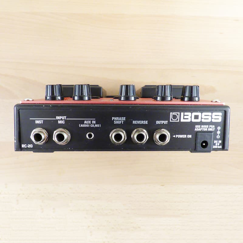 boss rc 20 loop station twin pedal guitar or vocal looper reverb. Black Bedroom Furniture Sets. Home Design Ideas
