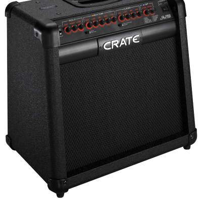 "Crate GLX65 3-Channel 65-Watt 1x12"" Guitar Combo with DSP Effects"