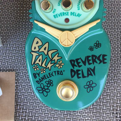 Danelectro Back Talk Reverse Delay nearly Mint! With Awesome Box! for sale