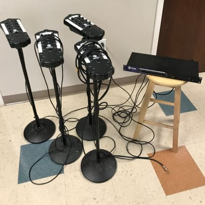 Hear Technologies, Hearback System with one HUB, 4 mixers, and cables. Excellent condition